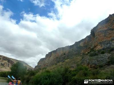 Piragüismo Hoces del Río Duratón,canoas; parque natural de sierra calderona; gr 92 costa brava